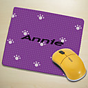 Personalized Mouse Pad - Purple Print