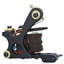 Cast-Iron Hand-assembled Tattoo Machine Gun of Liner and Shader