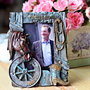 5 &quot;Picture Frame antigo Cowboy