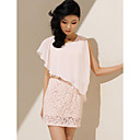 TS Lace One Shoulder Dress