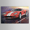 Hand Painted Oil Painting Transportation Racing Car 1303-SL0056