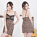 Leopard Straped Night Dress with T-back(Fit S-L)