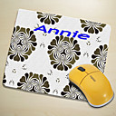 Personalized Mouse Pad - Flower Pattern