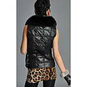 Fox Fur Shawl Collar Rabbit Fur Casual/Party Vest (More Colors)