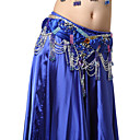 Performance Dancewear Satin with Beadings and Sequins Belly Dance Belt For Ladies More Colors