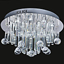 13W Modern LED Ceiling Light in Crystal Beaded Design