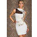 Women's White Modern Halter Dress(Bust:86-102cm,Waist:58-79cm,Hip:90-104cm)