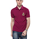 Hombres Loose Fit Cotton Polo M