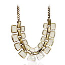 Elegant Alloy Geometric Necklace