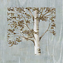 Printed Art Floral Birch Study I by NBL Studio