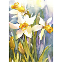 Printed Art Floral Narcissus by Annelein Beukenkamp