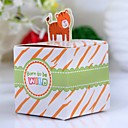 Lovely Lion Baby Shower Favor Box (Set of 12)