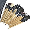 24PCS High Quality Professional Wool Cosmetic Brush Set