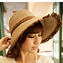 Women's Summer Lace Cording Bow Sunhat