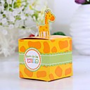 Cute Giraffe Baby Shower Favor Box (Set of 12)