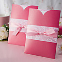 Romantic Pink Wedding Invitation With Insert (Set of 50)