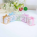 &quot;Baby's Day Out&quot; Laser Cut Carriage Favor Box  Set of 12 (More Colors)