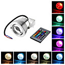 9W RGB Light Remote Controlled LED Spot Bulb Underwater Lamp (12V)