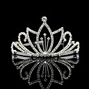 Classic Alloy With Rhinestone Wedding Tiaras
