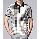 Men's Fashion Shirt Kraag Zomerseizoen korte mouw T-shirt