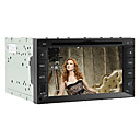 6.2 Inch 2DIN Car DVD Player (GPS, iPod, RDS)