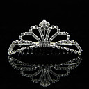 Lega alla moda con strass Wedding Bridal Tiara
