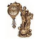 Fantasy Imagination Polyresin Table Clock