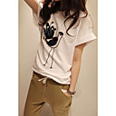 Women's Bird Embroidery T-shirt