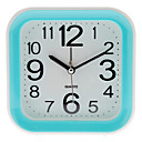"3"" Square Analog Desktop Alarm Clock (Random Color, 1xAA)"