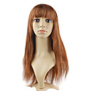 Lace Front 100% Human Hair 18&quot; Silky Straight Hair Wigs