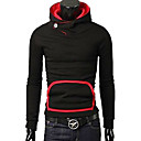 Man's Thicken Cotton Hoodie with Cap(Assorted Colors)