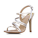 Fantastic Leatherette Stiletto Heel Sandals Party / Evening Shoes