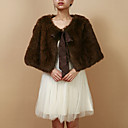 Nice Faux Fur Evening/Casual Wrap/Jacket
