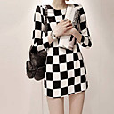 Women's Checkboard Dress