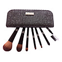 7PCS Diamond-Studded High Quality Professional Brush Set With Free Case