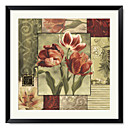 Framed Art Print Floral Classic Impressions 2 by Lisa Audit